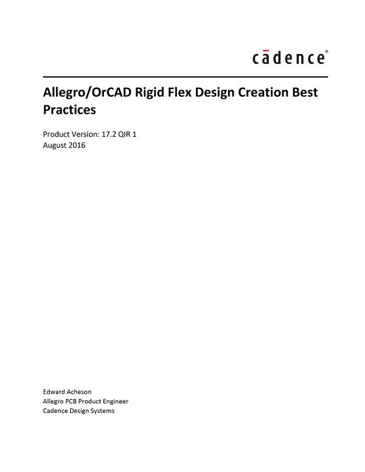Rigid Flex Design Creation Best Practices