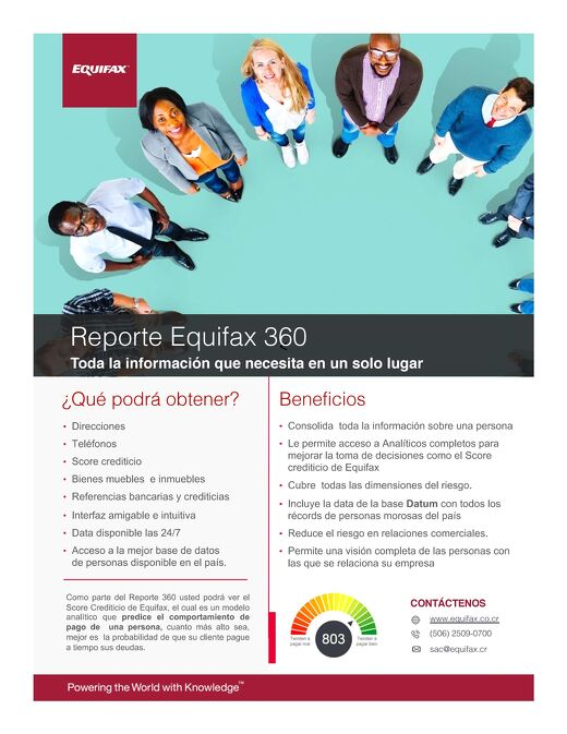 One pager Reporte 360 CAMEX