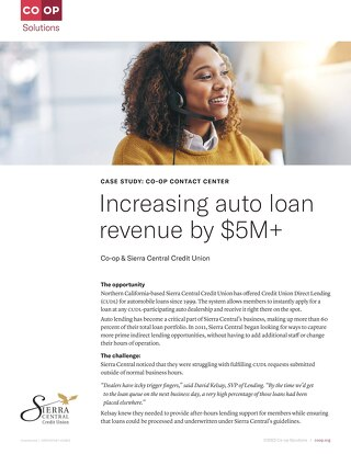 Contact Center Case Study - Sierra Central CU