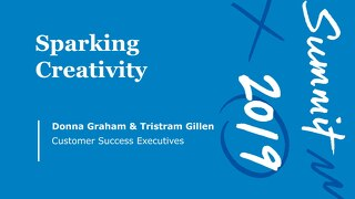 Sparking Creativity (Workshop Session)