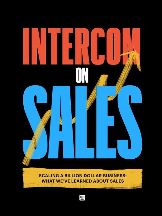 Intercom on Sales