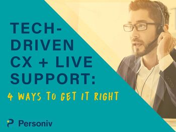 Tech-Driven CX + Live Support