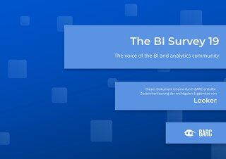 BARC The BI Survey 19 (Deutsche)