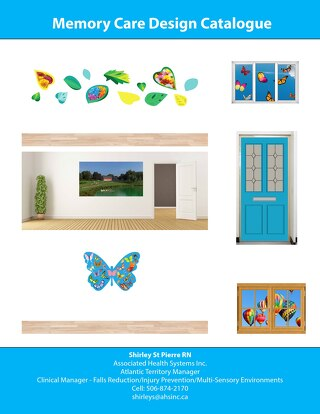 AHS Memory Care Design Catalogue