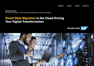 Smart Data Migration in the Cloud Driving Your Digital Transformation
