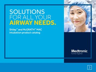 Brochure: Digital Shiley™ and McGRATH™ MAC Intubation Catalog