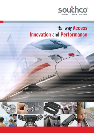 Southco's Rail Access, Innovation and Performance Brochure