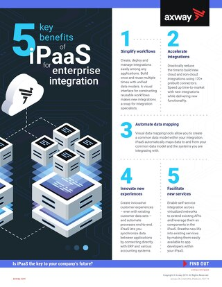 5 key benefits of iPaaS for enterprise integration