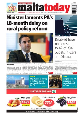 MALTATODAY 6 November 2019