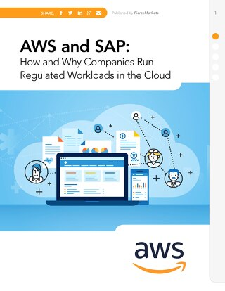 AWS and SAP: regulated workloads in the cloud