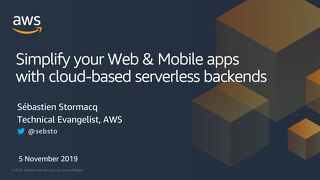 Simplify mobile & web development with Cloud-based backends
