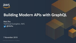 Building modern APIs with GraphQL