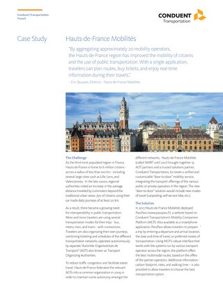 Case Study: Hauts-de-France Mobilités (SMIRT)