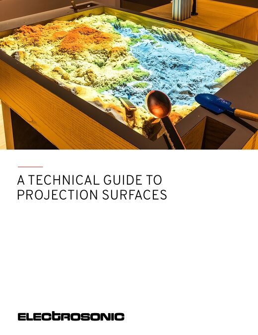A Technical Guide to Projection Surfaces