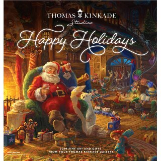 Thomas Kinkade Gallery Holiday 2019 Catalog