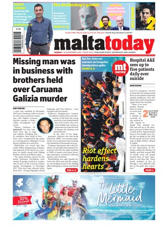 MALTATODAY 10 November 2019