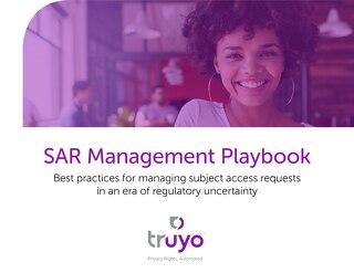 SAR Management Playbook