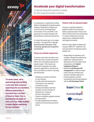 Accelerate your digital transformation
