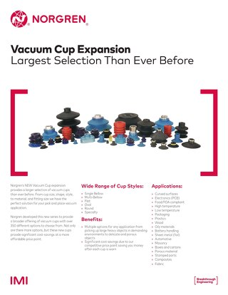 Vacuum Cup Expansion Sell Sheet