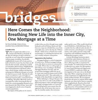 Bridges Fall 2019