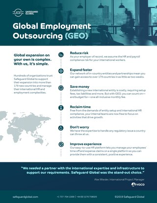 Global Employment Outsourcing (GEO)