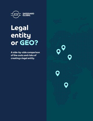 Legal entity or GEO?
