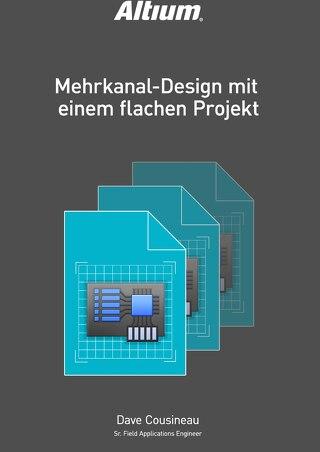 Mehrkanal-Design mit einem flachen Projekt
