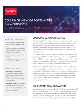 5G Solution Brief