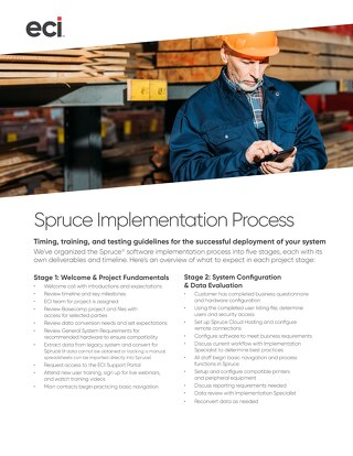 Spruce Implementation Process