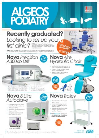 Algeos Podiatry - Graduate Flyer 2013