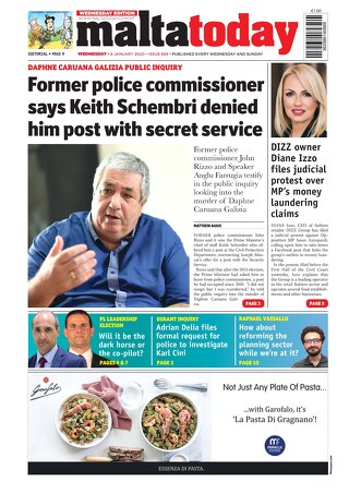 MALTATODAY 8 January 2020 Midweek