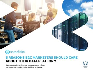 5 Reasons B2C Marketers Should Care About Their Data Warehouse