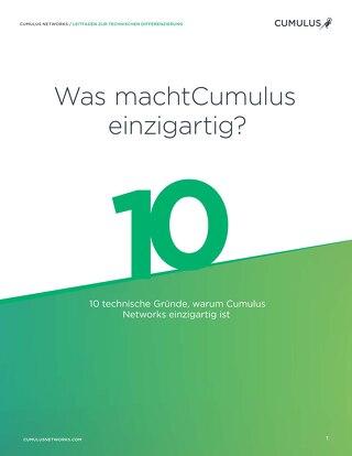 Was macht Cumulus einzigartig?