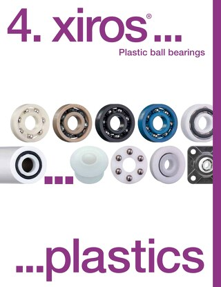 xiros plastic ball bearings catalog