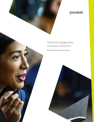 Parexel Medical Communications Services brochure