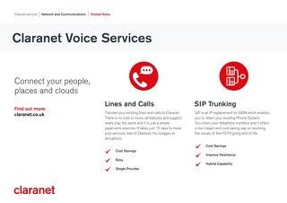 Claranet | Voice Services