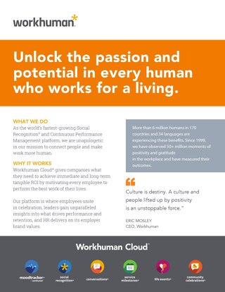 Workhuman at a Glance