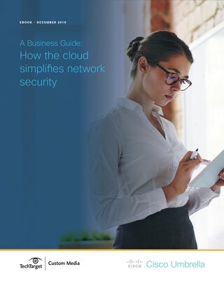 How the Cloud Simplifies Network Security