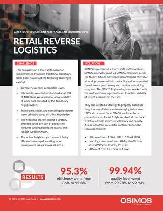 [Distribution] Retail Reverse Logistics Case Study