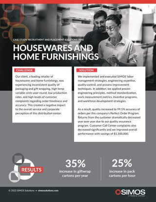[Distribution] Housewares Case Study