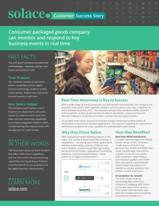Case Study: Consumer Packaged Goods Company Customer Success