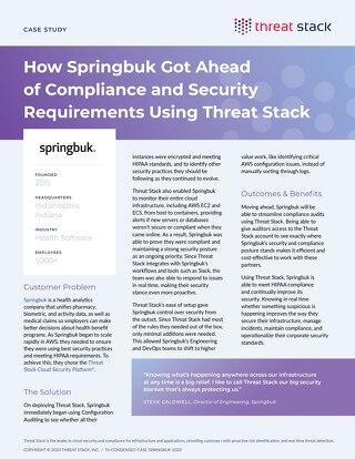 Springbuk Case Study