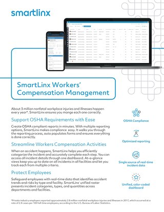 SnartLinx Workers' Compensation  Management