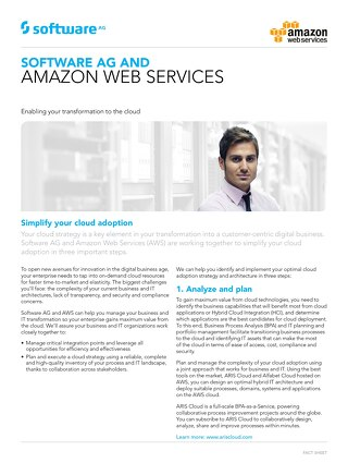 Software AG and Amazon Web Services