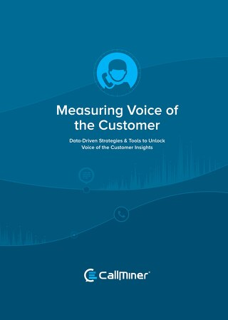 Measuring Voice of the Customer Data-Driven Strategies & Tools to Unlock Voice of the Customer Insight