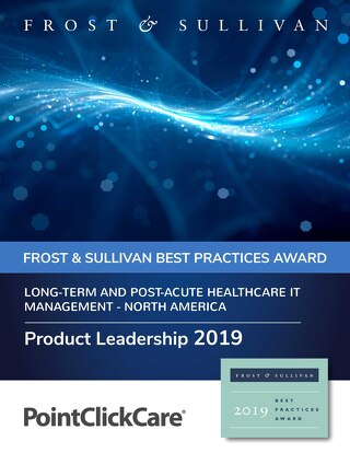 2019 North America Product Leadership Award
