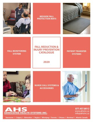 Fall Reduction & Injury Prevention Catalogue 2020