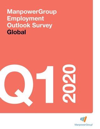 ManpowerGroup Employment Outlook Q1 2020
