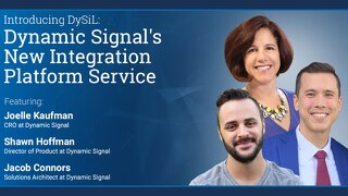 Dynamic Signal's New Integration Platform As A Service (Pres Deck)