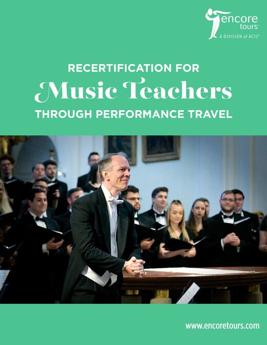 Recertification for Music Teachers Through Performance Travel PDF